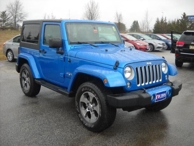 Pre-Owned 2016 Jeep Wrangler Sahara With Navigation & 4WD