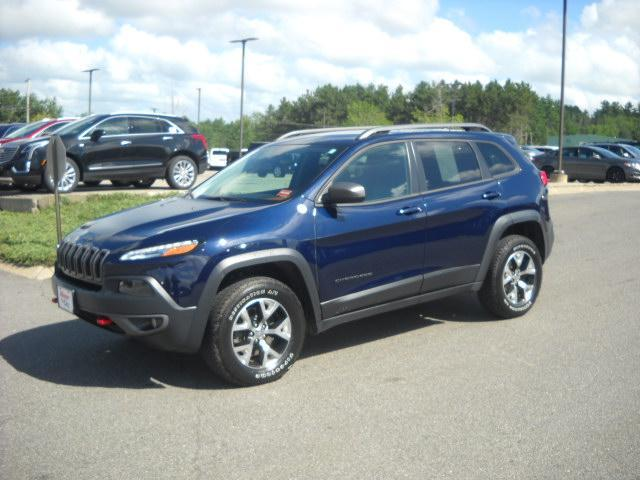 Pre Owned 2015 Jeep Cherokee Trailhawk Sport Utility In Bangor