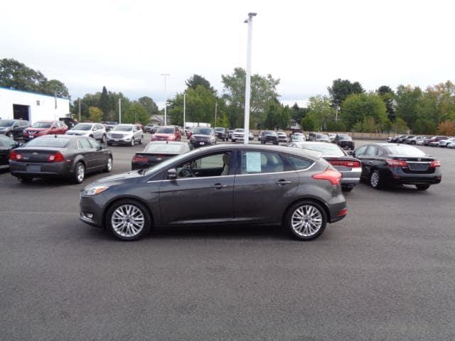 Pre-Owned 2015 Ford Focus Titanium FWD Hatchback (C10303P)