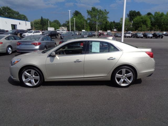 Certified Pre-Owned 2015 Chevrolet Malibu LTZ With Navigation