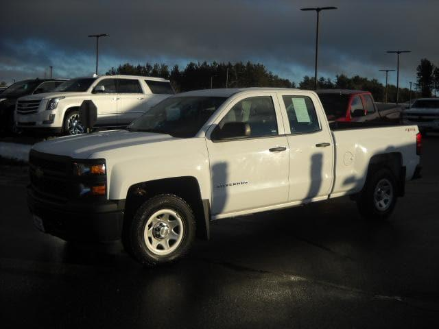 Pre-Owned 2015 Chevrolet Silverado 1500 Work Truck 4WD