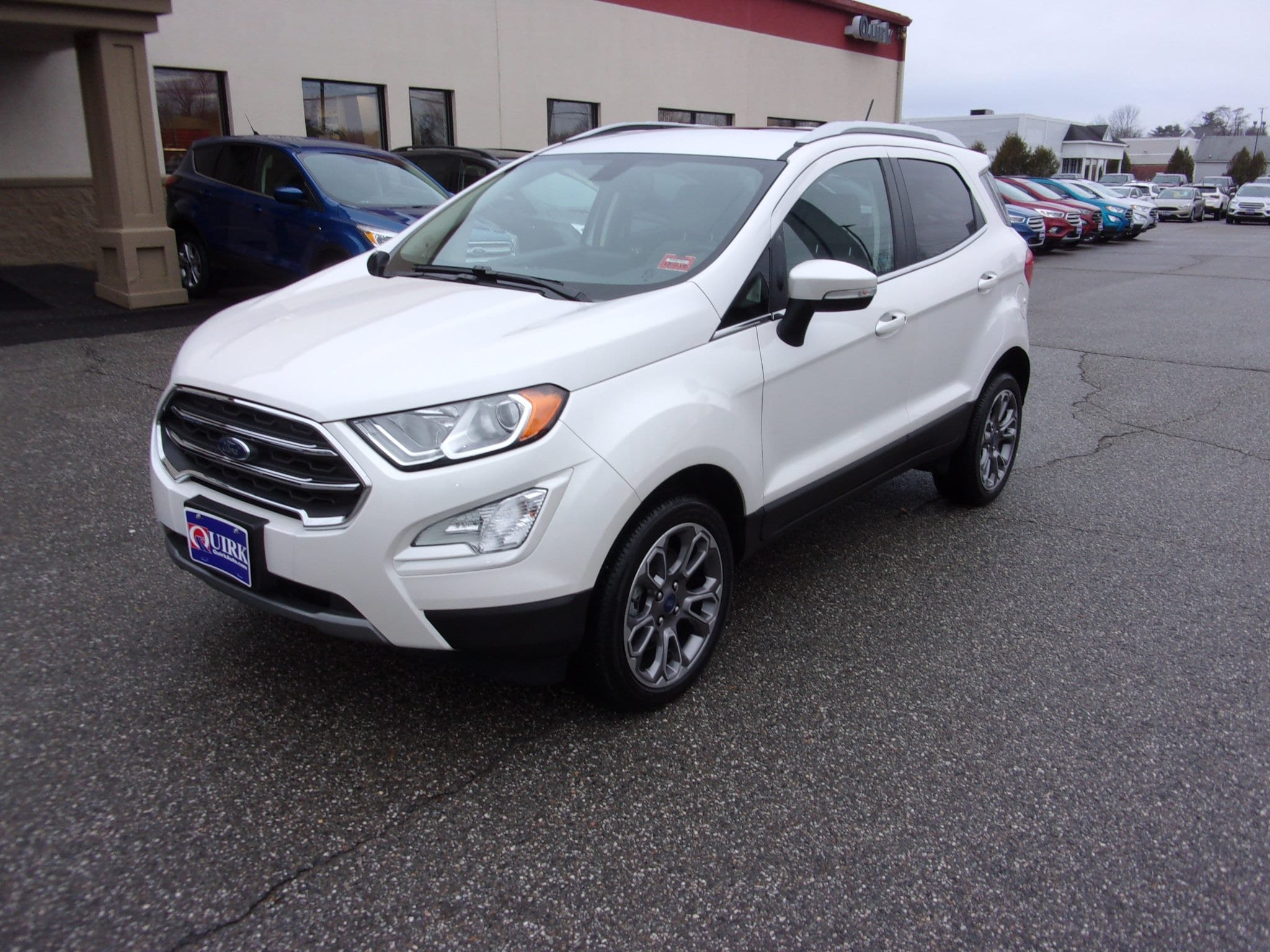 2018 Ford EcoSport Titanium With Navigation & 4WD