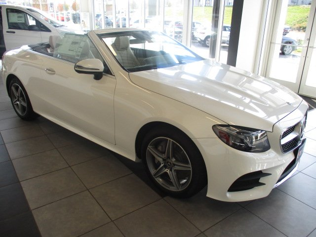 New 2019 Mercedes Benz E 450 4matic Cabriolet