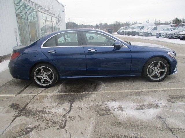 Certified Pre-Owned 2017 Mercedes-Benz C 300 4MATIC