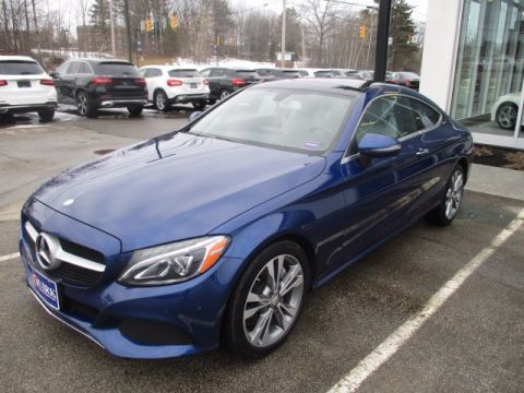 Certified Pre-Owned 2017 Mercedes-Benz C 300 4MATIC Coupe
